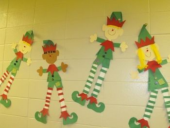 Santa's little helpers are ready to pack the sleigh! Students will answer survey questions to determine the details of each adorable Elf Glyph. The...