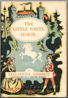 """The Little White Horse"" by Elizabeth Gouge - J.K. Rowling's favorite childhood book! Mine too..."