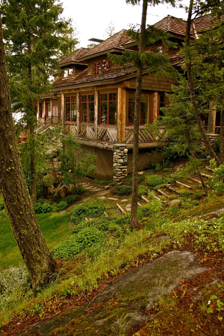 406 best images about cozy and quaint cabins and log homes for Adirondack cabin builders