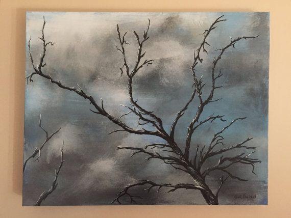 High in the Stormy Sky by KristiBonham on Etsy