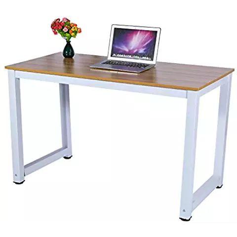 Wooden Computer Desk #Computer Desks #OfficeProducts #Workstations