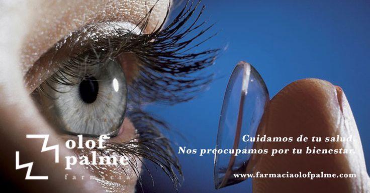 Si usas lentillas no te pierdas nuestros consejos | Farmacia Olof Palme