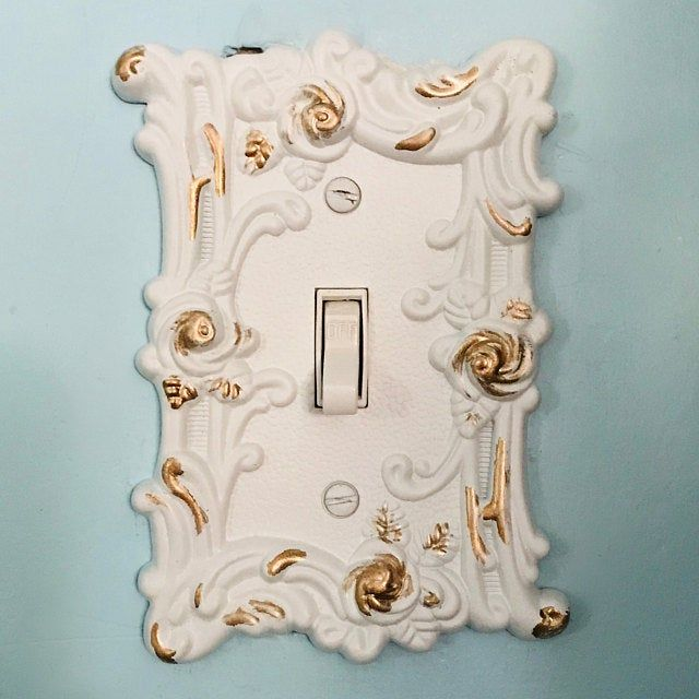 Light Switch Cover In Victorian Black Switch Cover Etsy In 2020 Light Switch Covers Light Switch Plate Cover Switch Covers