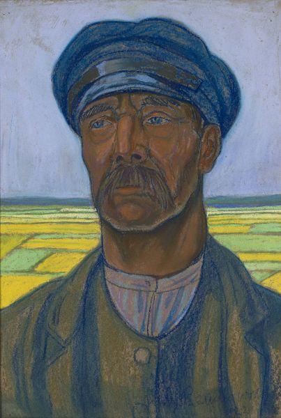 Portret chłopa - Jan Rembowski