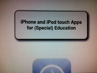 Apps for Special Education-extensive list of apps from Downs Sydrome Guild of Kansas City. http://www.kcdsg.org/files/content/24470331-iPhone-and-iPod-touch-Apps-for-Special-Education.pdf. Pinned by SOS Inc. Resources. Follow all our boards at pinterest.com/... for therapy resources.