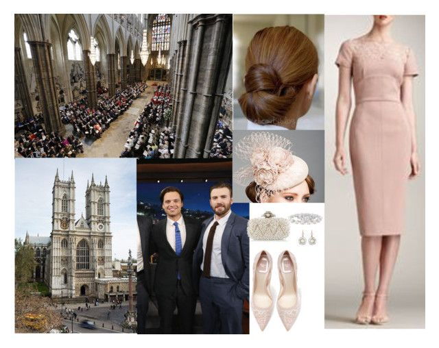 """""""Attending the annual Commonwealth Day Observance Service at Westminster Abbey"""" by pacqueline-ngoya ❤ liked on Polyvore featuring H&M, Sebastian Professional, Rachel Trevor-Morgan, Tiffany & Co., Vera Wang and Oscar de la Renta"""