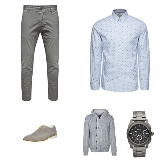 Casual Outfit - #Jack&Jones #LTB #PierOne #Fossil