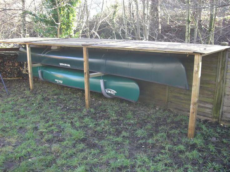 Canoe Or Kayak Storage Idea