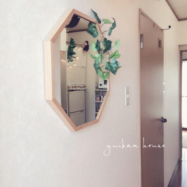玄関の鏡がラッキーアイテムになる方法 | RoomClip mag | 暮らしと ... 八角形の鏡の効果