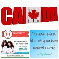 Rodan + Fields just launched in Canada, wanna be a part of it?!
