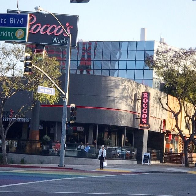Grab A Cocktail And Some Appetizers And Catch A Game At Rocco S Weho Sports Bar In West Hollywood Glitteratitour Sports Bar West Hollywood Santa Monica Blvd
