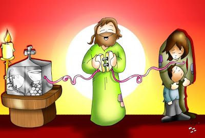 Nuestra Parroquia de Anolaima: Moniciones Solemnidad Corpus Christi - A