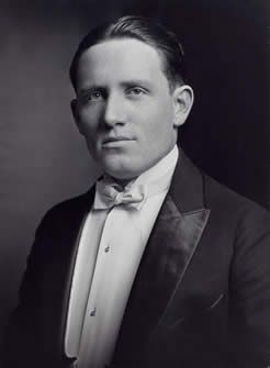Spencer Tracy at Ripon College, 1921 (via Spencer Tracy)