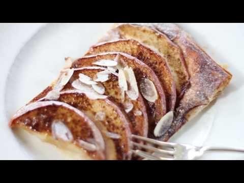 Video: appelplaattaart met bladerdeeg | Made by Ellen