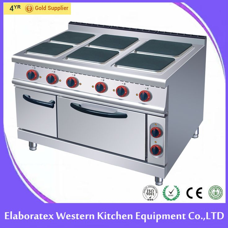 6-Plate Electric Cooker with Oven HSQ-998 for sale!