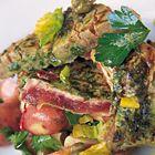 Een heerlijk recept: Jamie Oliver: geroosterde tonijn met kruidenkorst