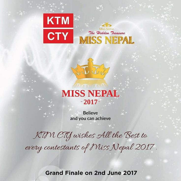 KTM CTY wishes all the very best to every contestants of Miss Nepal 2017.  Grand Finale on 2nd June 2017 #KTMCTY #MadeinNepal #nepal #shopping #bestprices