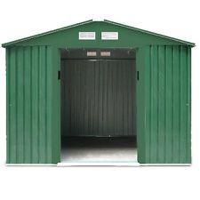Box Casetta arredo giardino esterno lamiera verde zincata H198 xP171xL251cm BIG