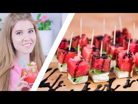 ТРИ АРБУЗНЫХ РЕЦЕПТА | Мохито и салат из арбуза - YouTube