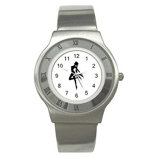 Sailor Moon Silhouette UNISEX ADULT Slim Stainless Steel Watch Quinn Cafe http://www.amazon.com/dp/B00V326HDS/ref=cm_sw_r_pi_dp_yx8dvb1G16RR2