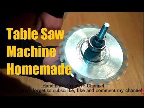 How to make Table Saw Machine - Powerful Project / Как сделать настольны...