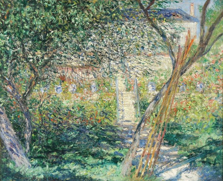 Monet Claude Monet S Garden At Vetheuil 1881 (from U003cau2026