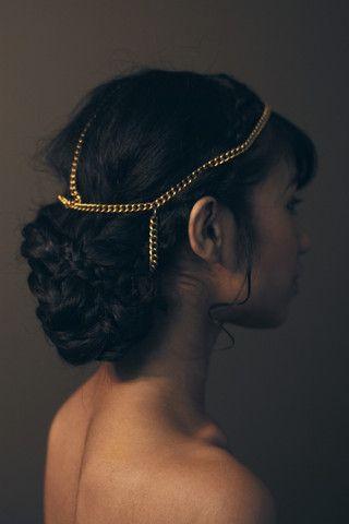 just ordered this for this week's promo shoot! #kairmusic #kairbearstare #pathologicalthesingle Shona Headpiece - Haati Chai Jewelry