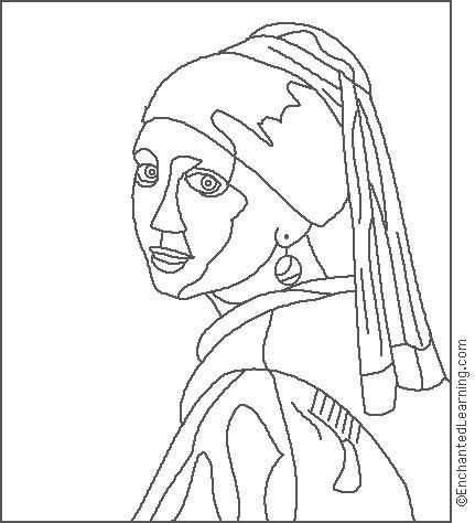 Jan Vermeer: Hlava dívky v turbanu