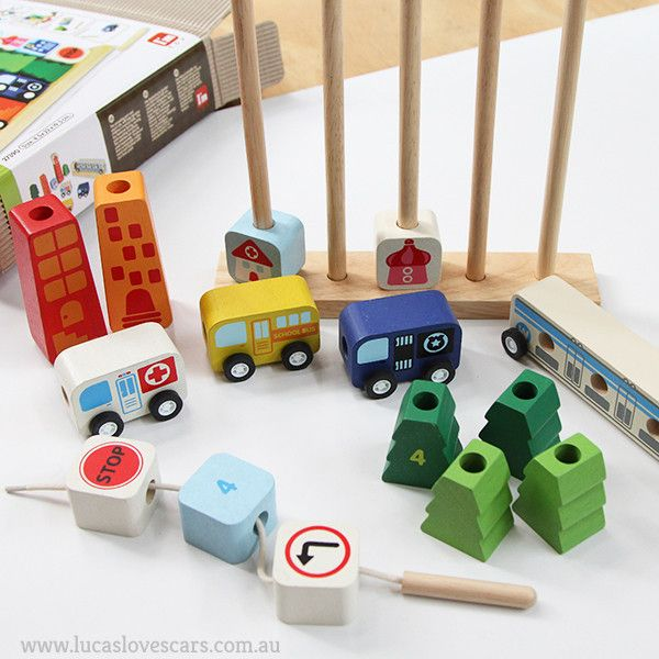 SORT and COUNT wooden cars | Lucas loves cars