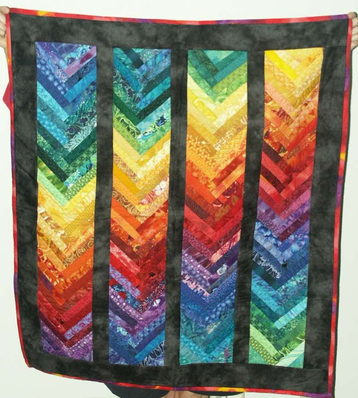 171 Best Quilts French Braid Chevron Images On Pinterest