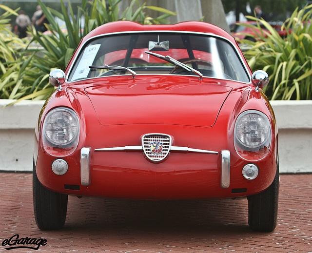 """1959 Fiat Abarth 750 Zagato """"Double Bubble"""" Coupe"""