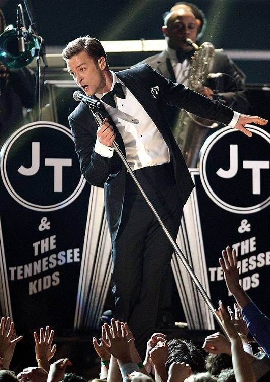 I loved Justin Timberlake's performance at the Grammy's!