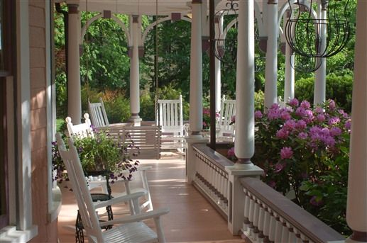 Bed And Breakfast | Property Photos Relaxing on the beautiful porch, complete with swings, rocking chairs and sunset views,Beaufort House Inn