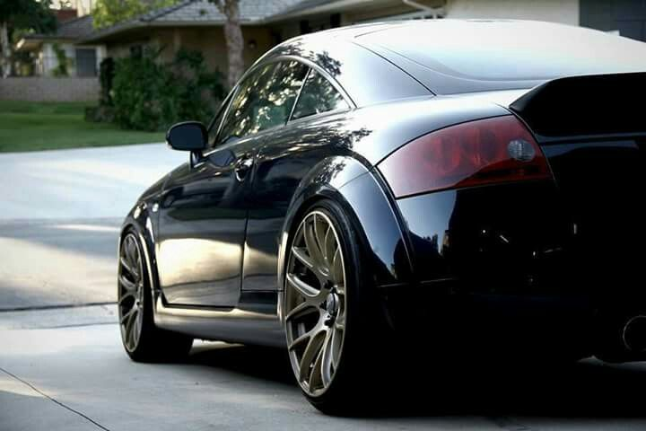 Audi tt modified