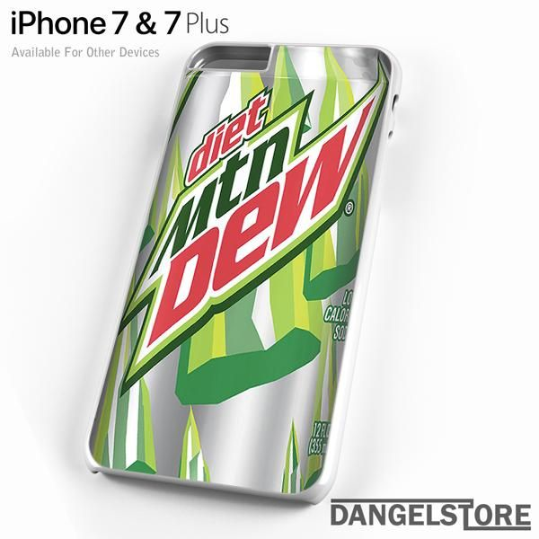 Soft Drink Diet Mtn Dew Gt For Iphone 7 Case Drinks Soft Drinks Iphone