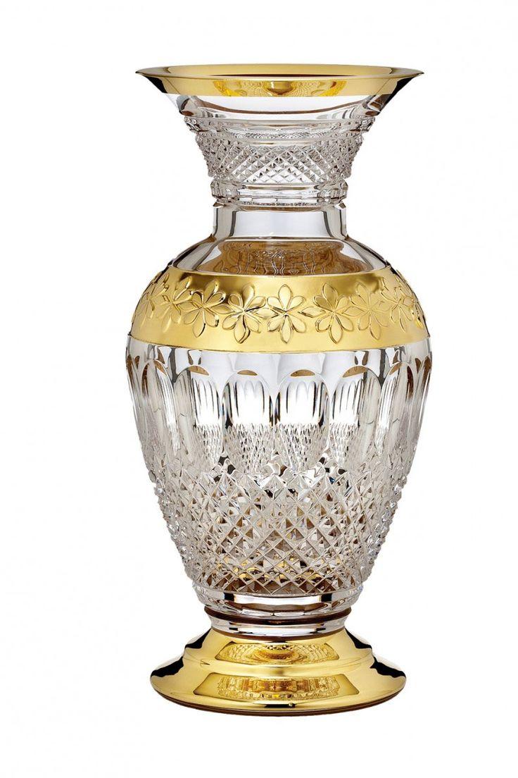ウォーターフォード コリーン 60周年記念 ギルデッド 花瓶