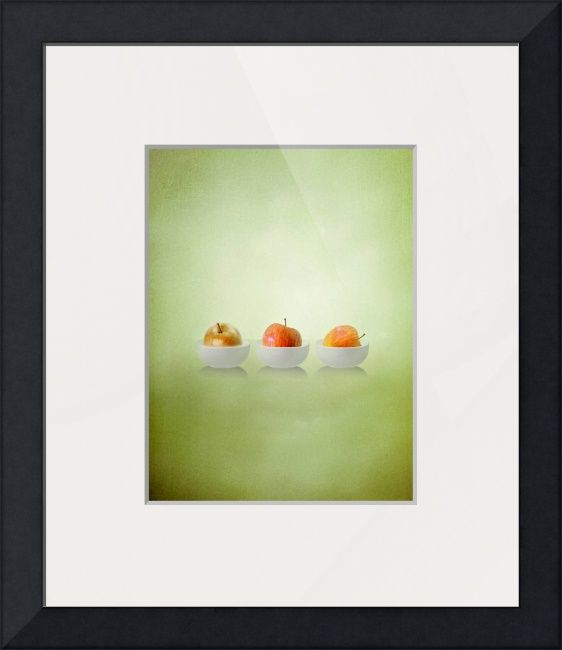"""""""Three+Apples""""+by+Art+Skratches,++//++//+Imagekind.com+--+Buy+stunning+fine+art+prints,+framed+prints+and+canvas+prints+directly+from+independent+working+artists+and+photographers."""