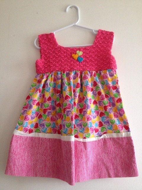 Toddler Jumper Pillowcase Dress Crochet by ThreadsNThingsbyMarg, $45.00
