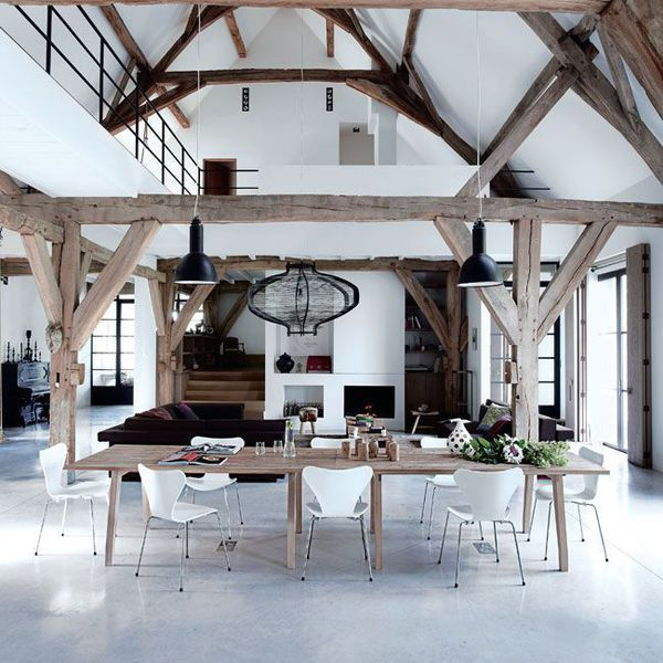 Les 25 meilleures id es de la cat gorie plafonds - Photos de loft amenager idees ...