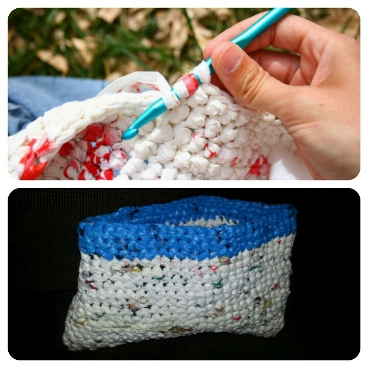 Crocheting Using Plastic Bags : 1000+ images about Crochet with Plastic bags, etc on Pinterest