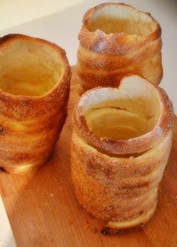 Palócprovence: Sütőben sült kürtőskalács