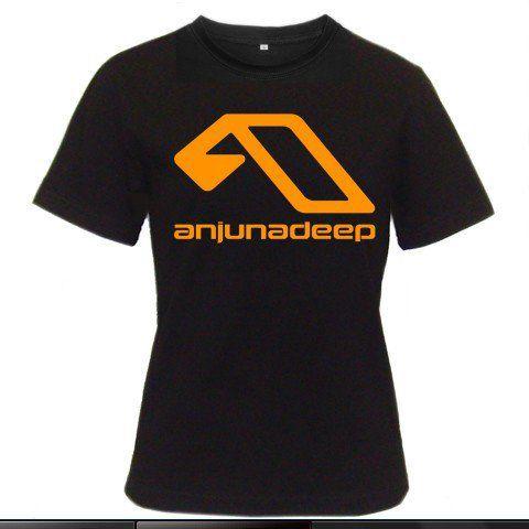 DJ Anjunadeep Above and Beyond Trance Music Jaytech Women Black T-Shirt Size S to 3XL