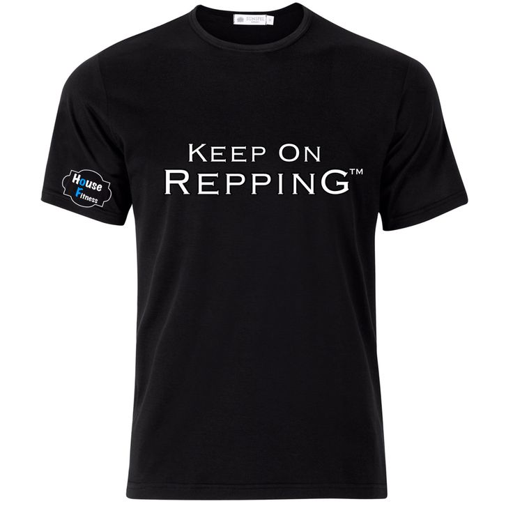 Our KeeP ON ReppinG gymwear tshirt   Visit www.houseoffitness.ie for more info.