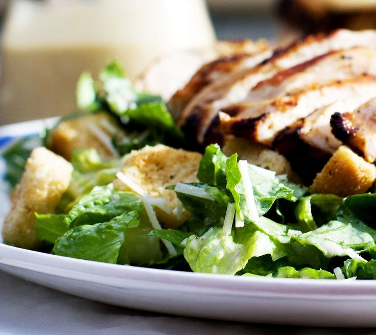 Traditional Chicken Caesar Salad