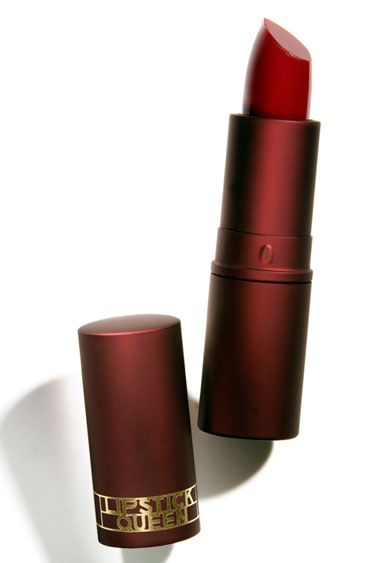 """RECOMMEND! Lipstick Queen """"Medieval"""" (a sheer red, for those who think they can't wear red!)"""