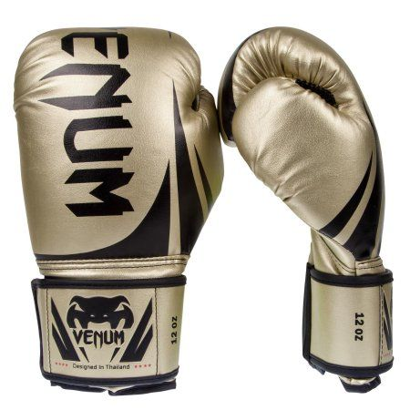 Venum Challenger 2.0 Boxing Gloves - Gold - 14-Ounce