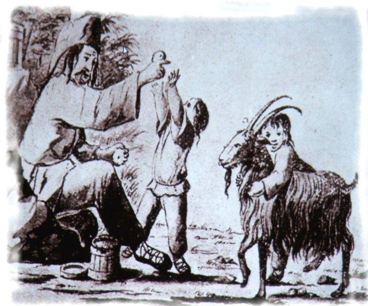 Pasterze/górale, Węgry, XVII-XVIII wiek.