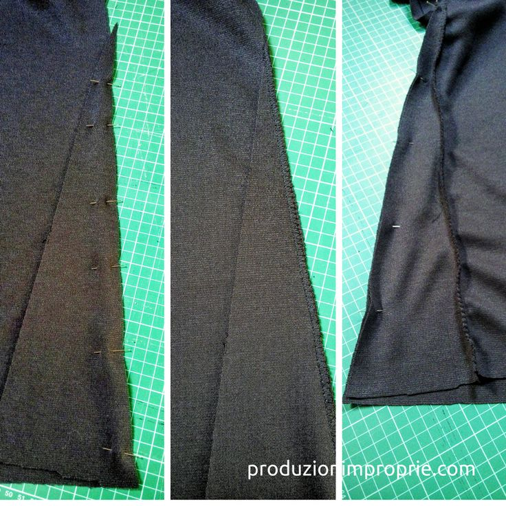 Tutorial di cucito per principianti per una gonna lunga modello a sirena con elastico in vita. Ovviamente lunga fino ai piedi e rigorosamente nera.