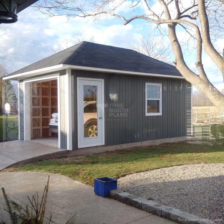 54 best garages images on pinterest archer architecture for Modular garage ontario