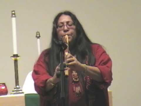 """Mary Youngblood - Native American Flute """"Amazing Grace"""""""